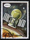 Station automatique Vénus IX, jour de vol de l'astronautique de série, vers 1978 Image libre de droits