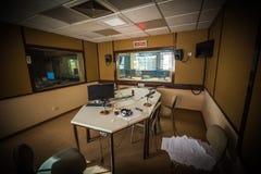 Station av radion Arkivfoton