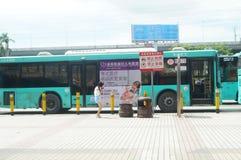 Station av Shenzhen den speciala ekonomiska zonen, Nantou station Royaltyfri Fotografi