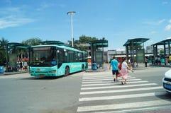 Station av Shenzhen den speciala ekonomiska zonen, Nantou station Fotografering för Bildbyråer
