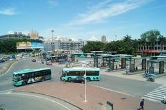 Station av Shenzhen den speciala ekonomiska zonen, Nantou station Arkivbild
