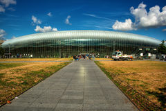 Station av Strasbourg HDR Royaltyfri Foto