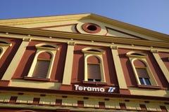 Station av teramo Arkivfoto