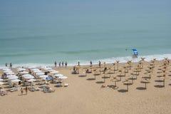 Station balnéaire d'or de sables, Bulgarie Photo libre de droits
