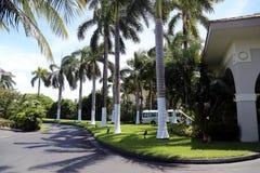 Station balnéaire de Marriott de caïman de Grand Cayman Island_Grand sur sept Miles Beach à Georgetown Image stock