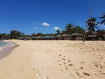 Station balnéaire de Patar, Pangasinan Images libres de droits