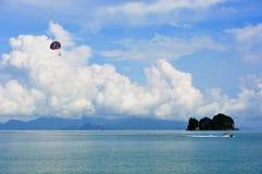 Station balnéaire Tanjung Rhu photos libres de droits