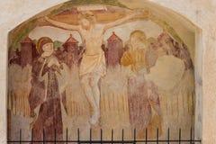 Station baroque de la croix Photos libres de droits
