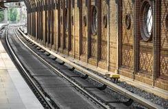 Station - Berlijn, Bellevue Stock Foto
