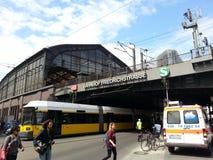Station Berlins Friedrichstraße Lizenzfreies Stockbild