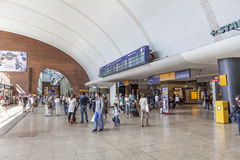Station centrale à Cologne, Allemagne photo stock