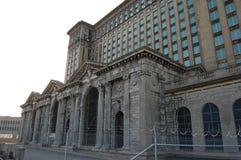 Station centrale abandonnée Detroit Michigan Etats-Unis de Michican photos libres de droits