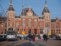 Station centrale Amsterdam Photo stock
