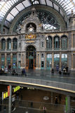 Station centrale d'Anvers, Antwerpen, Belgique Photo stock