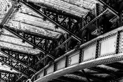Station centrale dans la ville d'Anvers, Belgique Images libres de droits