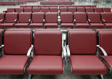 Station chairs Stock Photography