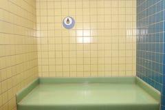 Station changeante de bébé photographie stock