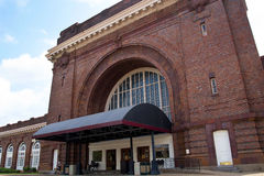 The Station of the Chattanooga Choo Choo in Chattanooga Tennessee USA. Chattanooga is internationally known for the 1941 song, the world`s first gold record, ` royalty free stock image