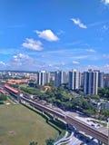 Station chinoise de MRT de jardins Photographie stock libre de droits