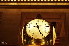 Station Clock Royalty Free Stock Photography