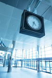 Station clock Stock Photos