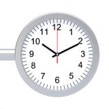 Station Clock Royalty Free Stock Images