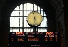 Station Clock Royalty Free Stock Photo