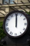 Station clock Stock Image