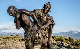 Station of the Cross Landmark Colorado Stock Photography