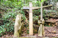 Station of the cross Stock Image