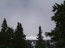 Station d'émetteur sur le› d de PradÄ Images stock
