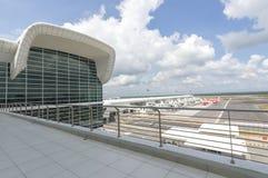 Station d'aéroport Image stock