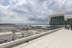 Station d'aéroport Photos stock