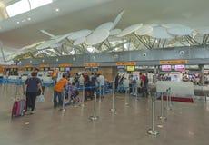 Station d'aéroport Photo stock