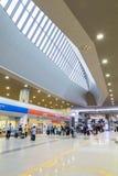 Station d'aéroport de Kansai à Osaka Photographie stock libre de droits