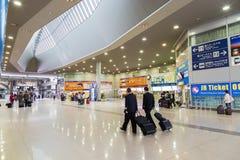 Station d'aéroport de Kansai à Osaka Photographie stock