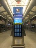 Station d'Airtrain d'aéroport de JFK à New York Photographie stock libre de droits