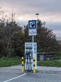 Station d'alimentation d'énergie Images stock