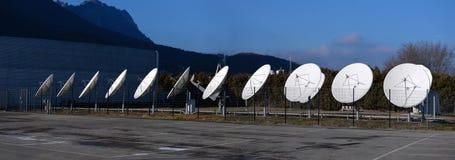 Station d'antenne de satellite Photos libres de droits