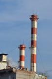 Station d'electropower de la chaleur Image libre de droits