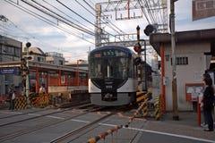 Station d'Inari, Kyoto, Japon Image libre de droits