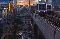 Station d'incidence de Bangkok BTS Photographie stock libre de droits