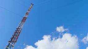Station de base de communication cellulaire mobile banque de vidéos