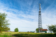 Station de base de LTE Images libres de droits