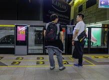 Station de BTS ? Bangkok, Tha?lande photos stock