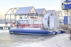 Station de canot de sauvetage Photos stock