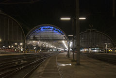 Station de central d'Amsterdam Photo libre de droits