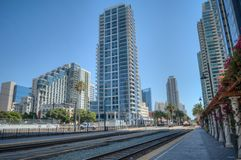 Station de central de San Diego Photo stock