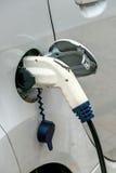 Station de charge de voiture électrique à Photos libres de droits
