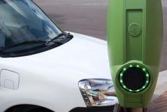 Station de charge de voiture électrique Photo libre de droits